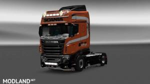 Scania R700 SVS skin, 1 photo