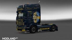 Swedish Lion Scania RJL skin