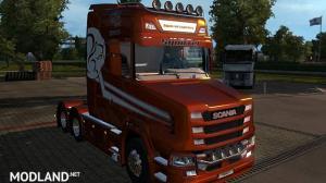 Squirrel Logistics Metallic skin Scania T