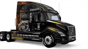 Volvo VNL 2019 Jack Daniel´s skin, 1 photo