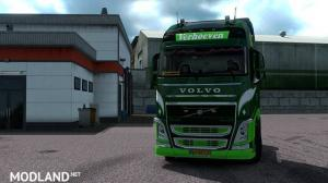 Verhoeven Transport Ridderkerk skin for Volvo FH&FH16 2012, 1 photo