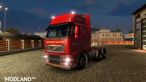 Volvo FH 2009 Zandbergens Transport Skin, 1 photo