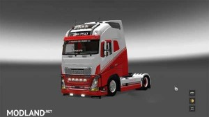 Volvo FH 2013 Eat My Dust skin, 1 photo