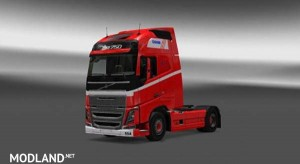 Volvo FH 2013 H.P.Therkelsen Skin