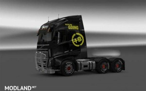 Volvo FH Battery Energy Drink Skin, 1 photo