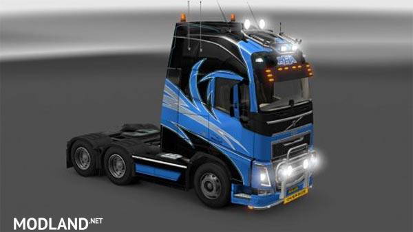 Volvo Fh 2012 Hha Skin Mod For Ets 2