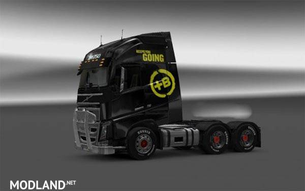 Volvo FH Battery Energy Drink Skin mod for ETS 2