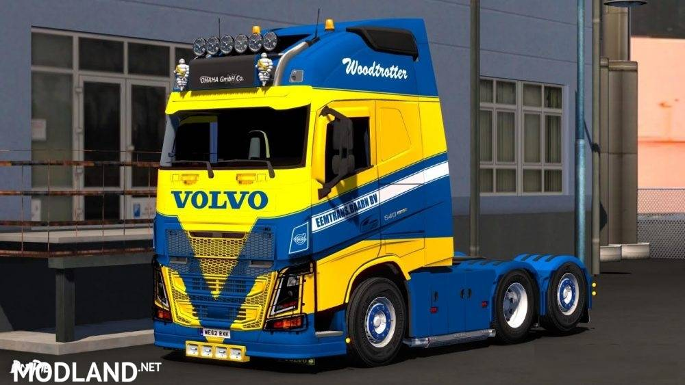 Skin For Volvo Fh Ohaha Mod For Ets 2