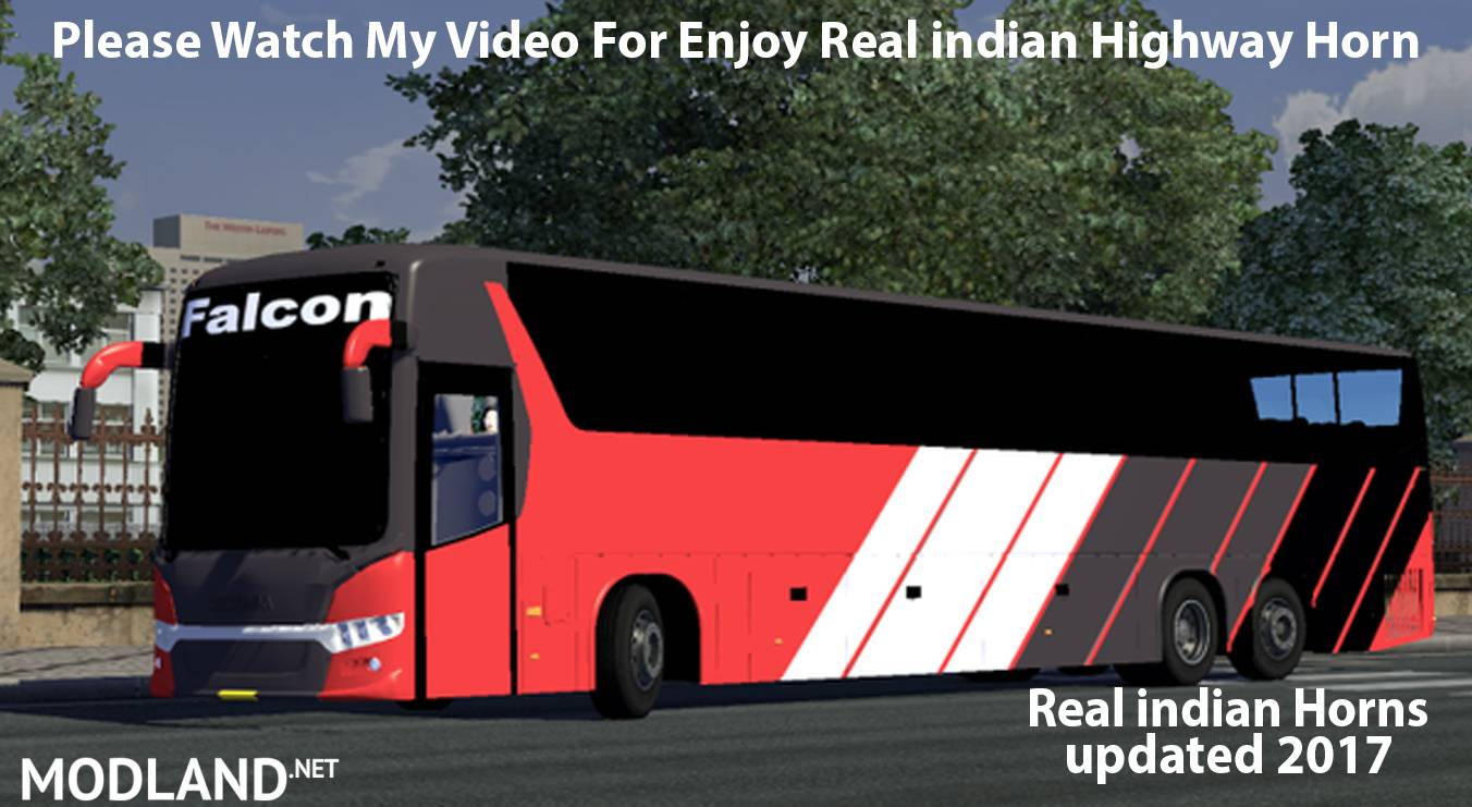 Real indian Horns [updated 2017] mod for ETS 2