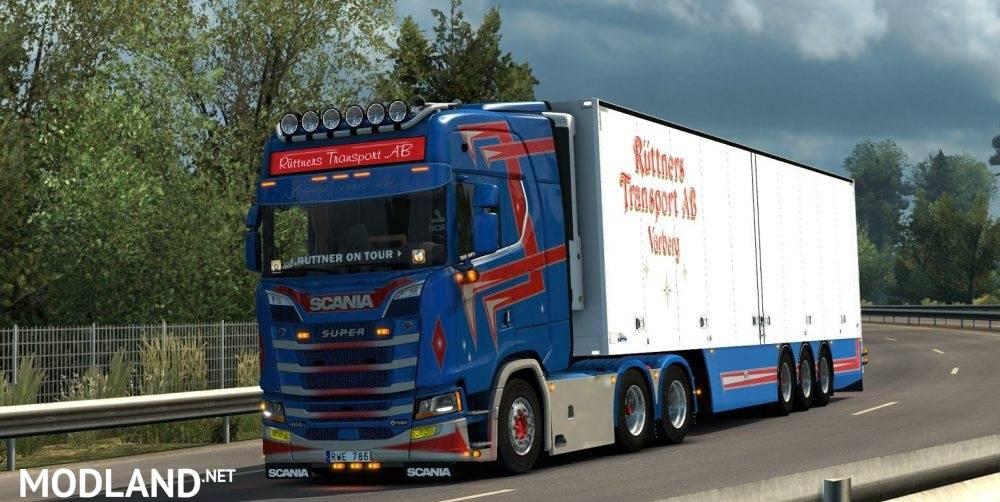 New Gen Scania V8 Open Pipe Sound Mod mod for ETS 2