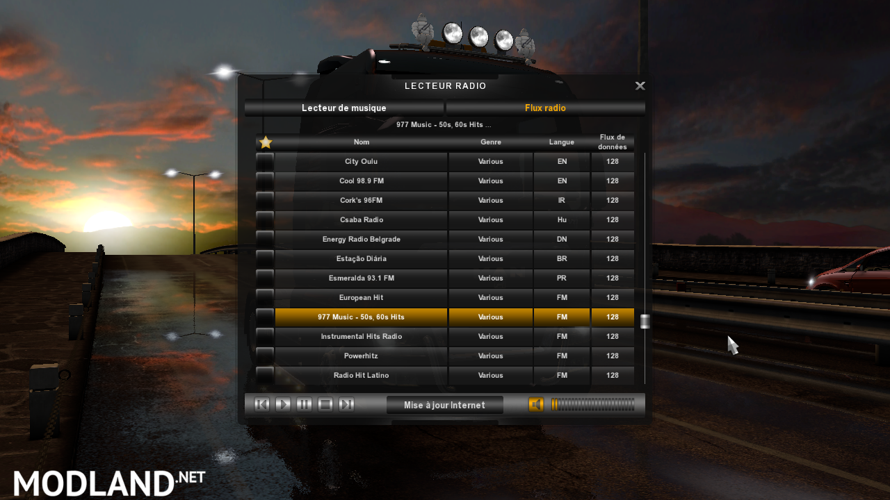 Radio World Music Version 0 1 2 FOR ETS2 mod for ETS 2