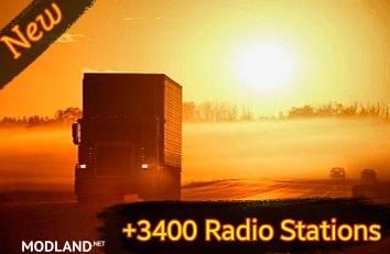 +3400 World Radio Stations