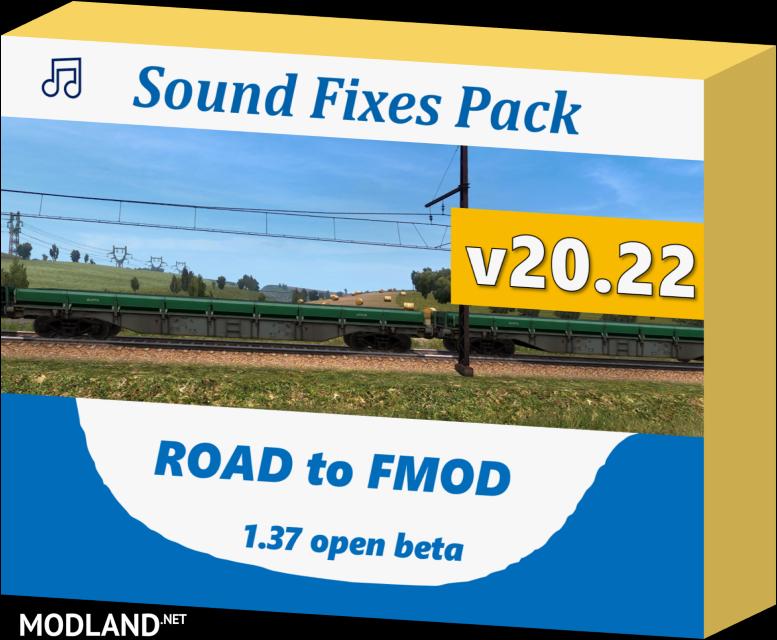 Sound Fixes Pack v 20.22 (1.37)