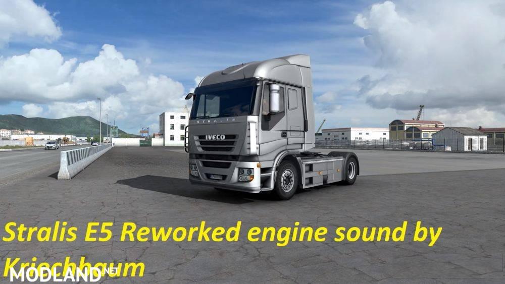 Iveco Stralis E5 reworked engine sound v1.0 1.37/1.38