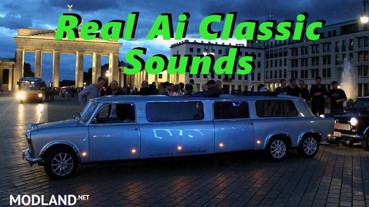 Sounds for Classic Cars Traffic Pack by TrafficManiac