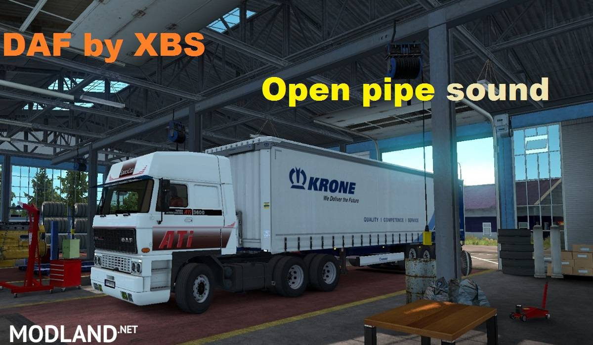 Daf F241 Open Pipe Sound