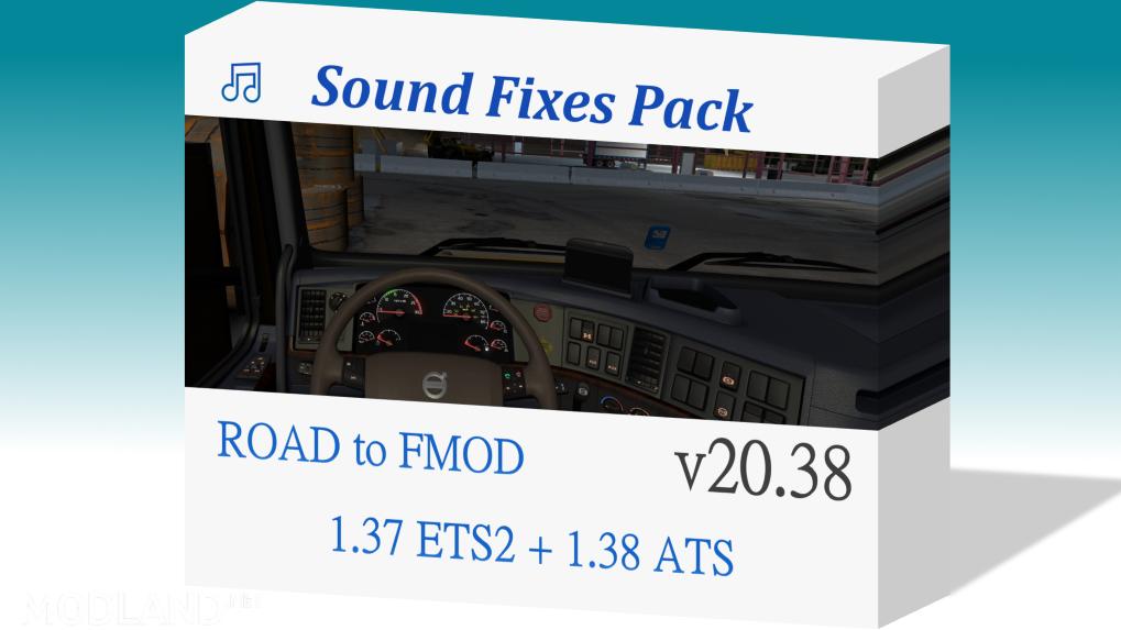 Sound Fixes Pack v20.38 ETS2 1.37