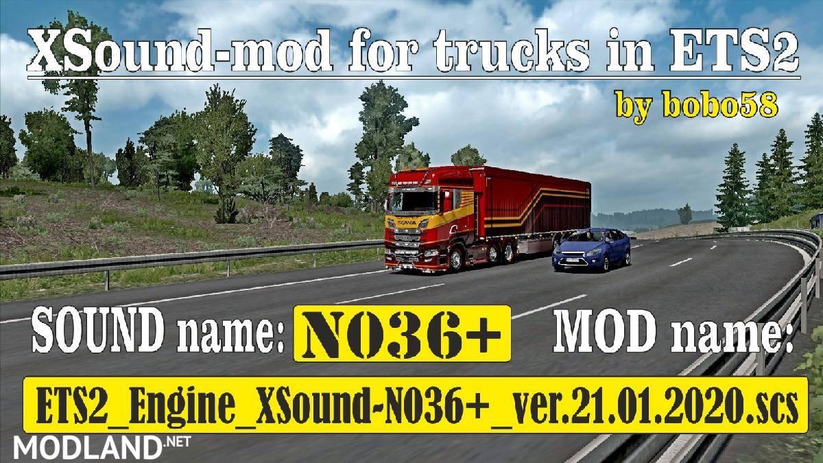 Engine sound N036 + 1.36.x