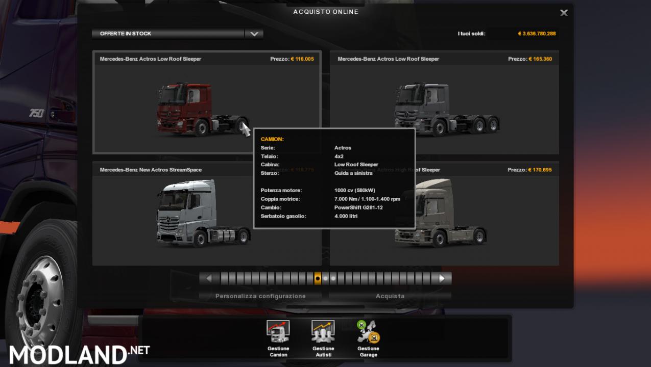 Engine Full truck 1.37