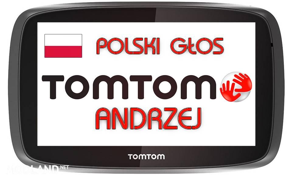 Polish Voice TomTom Andrzej