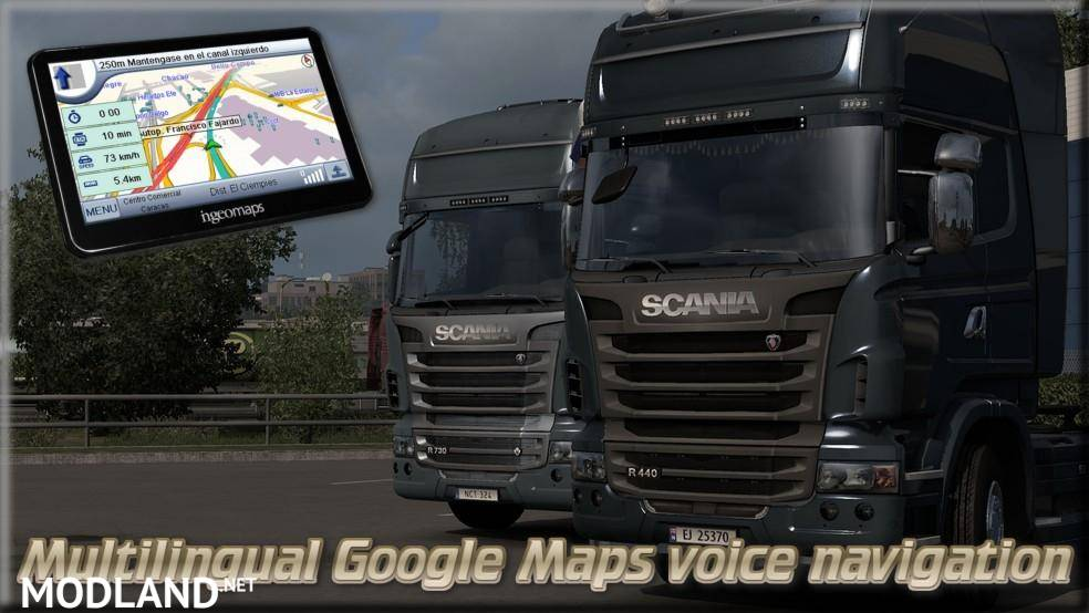 Multilingual Google Maps voice navigation (Update)
