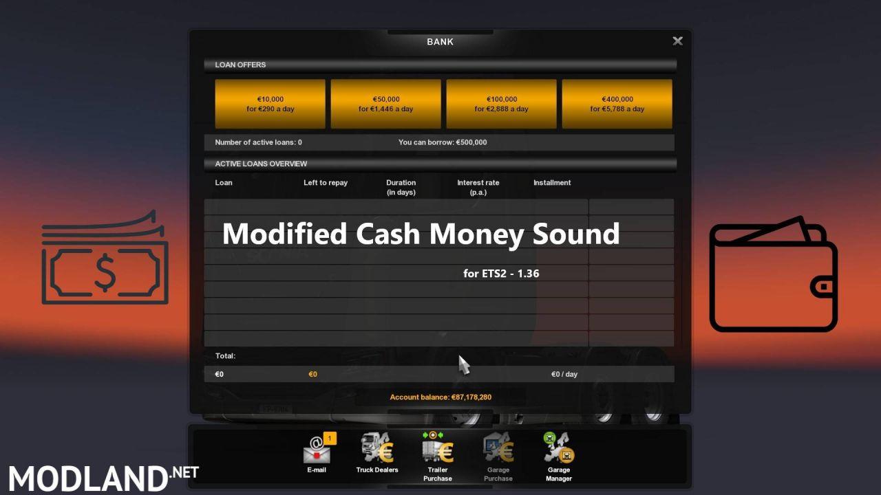 Modified Cash Money Sound Mod