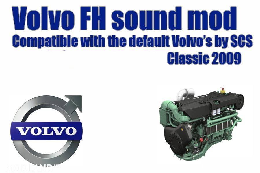 Volvo FH 2009 - engine sound 1.37