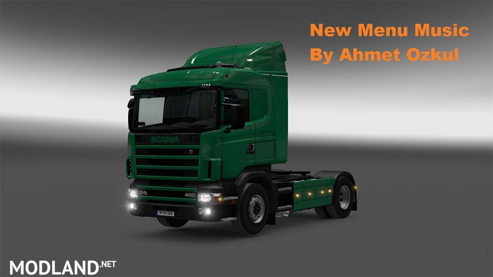 3 New Menu Musics Mod For ETS 2