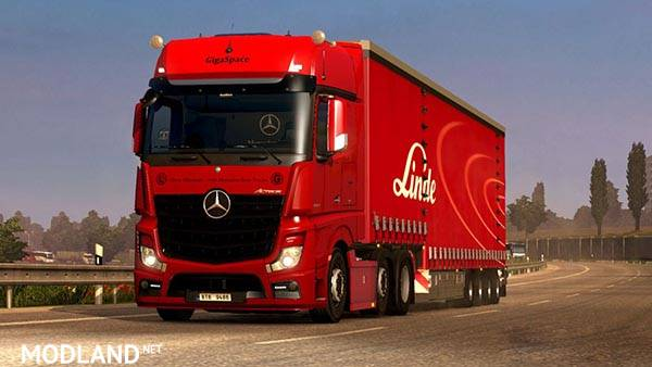 Mercedes Benz Actros MP4 New Sound BETA mod for ETS 2