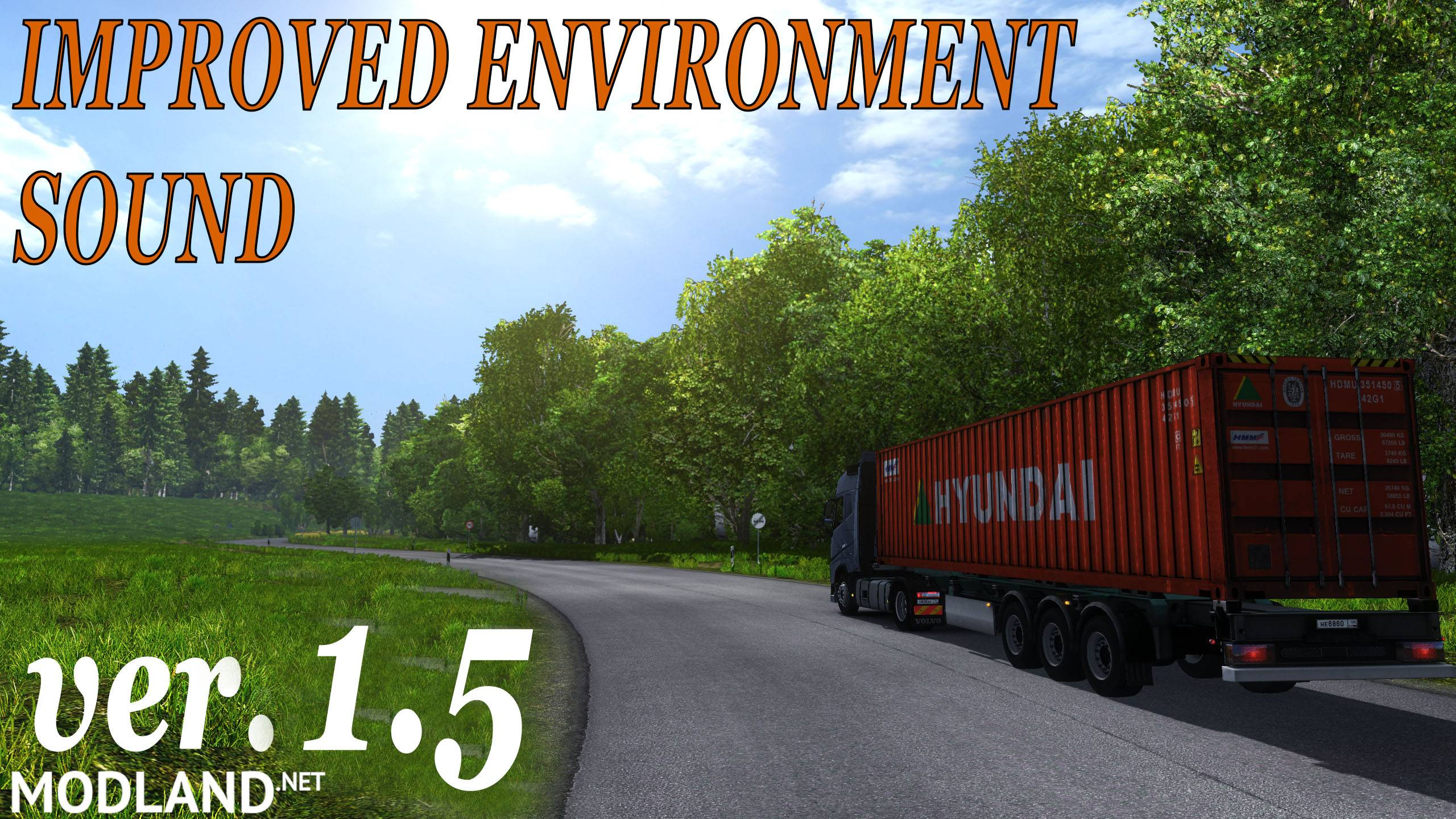 Improved Environment Sound 1.5 Mod For ETS 2
