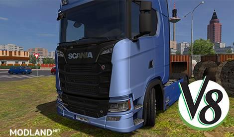 Addon for new Scania 2016 for the Kriechbaum V8 windows