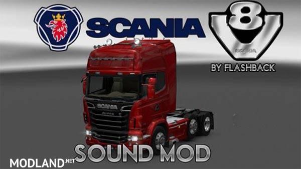 Scania V Sound Version Modlandnet on Game Trucks Volvo N10