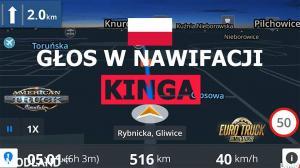 Polish Voice For Navigation Kinga