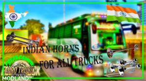 Indian air horns for all trucks