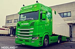 Deep V8 Scania R,S Next Gen & RJL Sound v 3.0, 1 photo