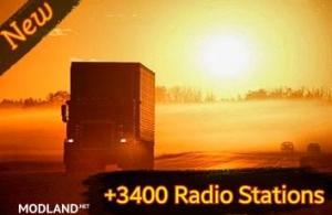 +3400 World Radio Stations v 4.0 - External Download image