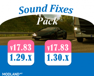 Sound Fixes Pack v 17.83, 1 photo