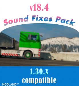 Sound Fixes Pack v 18.4, 1 photo
