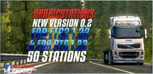 Arabic5tations Version 0.2 For ETS2 1.32 ATS 1.32