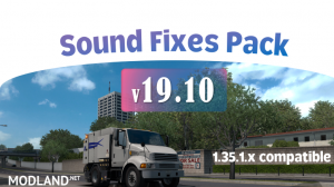 Sound Fixes Pack v 19.10, 1 photo