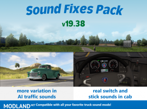 Sound Fixes Pack v19.38, 1 photo