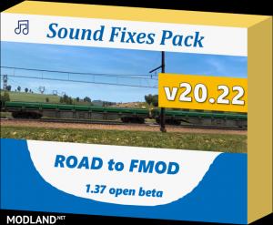 Sound Fixes Pack v 20.22 (1.37), 1 photo