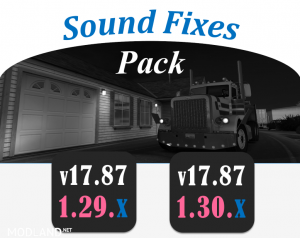 Sound Fixes Pack v 17.87, 1 photo