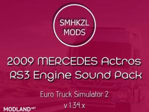 2009 Mercedes Actros – RS3 Engine Sounds – SmhKzl