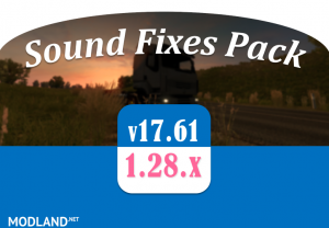 Sound Fixes Pack v 17.61, 1 photo