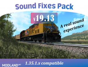 Sound Fixes Pack v 19.13, 1 photo
