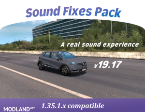 Sound Fixes Pack v19.17 [1.35], 1 photo