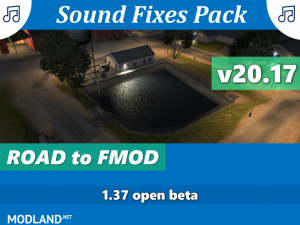 Sound Fixes Pack v20.17 1.37, 1 photo