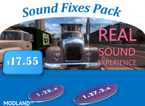 Sound Fixes Pack v 17.55, 1 photo