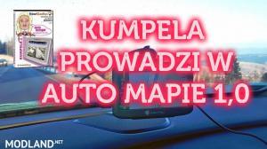 POLISH VOICE KUMPELA PROWADZI W AUTO MAPIE 1.0  - External Download image